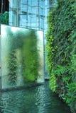 Waterfall mirror Stock Photo