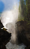 Waterfall and Mist Royalty Free Stock Photos