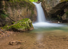 Waterfall. At Mixnitz in Styria, Austria Royalty Free Stock Images