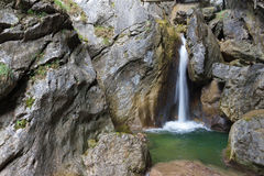 Waterfall. At Mixnitz in Styria, Austria Royalty Free Stock Photography