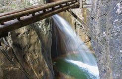 Waterfall at Mixnitz Stock Photo