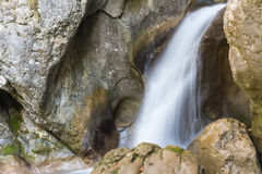 Waterfall. At Mixnitz in Styria, Austria Royalty Free Stock Image