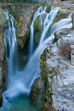 Waterfall of Molino de Aso in Ordesa Royalty Free Stock Images