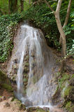 Waterfall at the Monasterio de Piedra Stock Photo