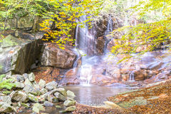 Waterfall in Montseny Stock Photography