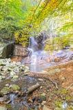 Waterfall in Montseny Stock Image