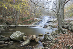 Waterfall in Montseny Royalty Free Stock Photography