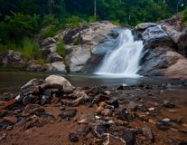 Waterfall in the morning Royalty Free Stock Image
