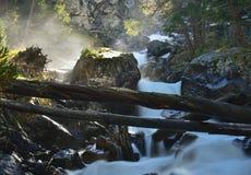 Waterfall in morning Royalty Free Stock Photos
