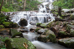 Waterfall. The motion of mae kampong waterfall chiangmai thailand Stock Images