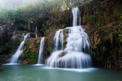 Waterfall motion Royalty Free Stock Photo
