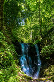 Waterfall at Mount Olympus Stock Photography