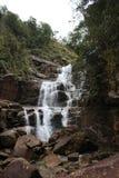 Waterfall of Mount Wuyi stock photography