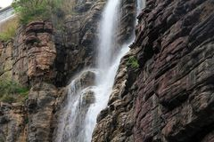 Waterfall at Mount Yun Tai Stock Photos