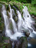 Waterfall in mountain Royalty Free Stock Photos