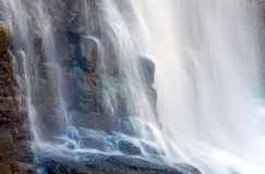 Waterfall on mountain forest Royalty Free Stock Image