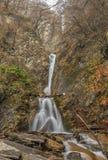 Waterfall in a mountain gorge.Vandam.Gabala.Azerbaijan Royalty Free Stock Photography