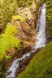 Waterfall mountain landscape. Rabbi Valley, Trentino Alto Adige, Italy Stock Photo