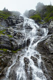 Waterfall on mountain Royalty Free Stock Photography