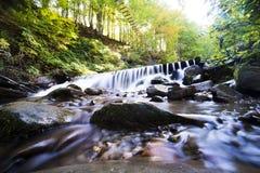 Waterfall mountain landscape. Selective focus Stock Photo