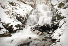 Waterfall mountain river Royalty Free Stock Photos