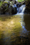Waterfall on mountain river Stock Photography