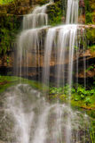 Waterfall. In a mountain stream Stock Photography