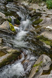 Waterfall on a Mountain Stream - 2. Waterfall on a wild mountain stream located in the Blue Ridge Mountains of Virginia, USA Royalty Free Stock Photography