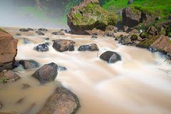 Waterfall in mountain at Vietnam Royalty Free Stock Image
