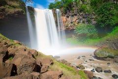 Waterfall in mountain at Vietnam Stock Photos