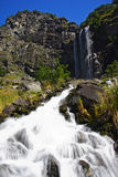 Waterfall in mountains Stock Photography