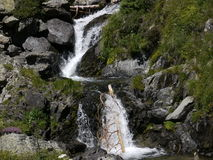Waterfall. In the mountains of andorra Royalty Free Stock Image