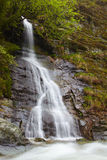 Waterfall on the mountains Royalty Free Stock Photography