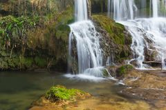 Waterfall in the mountains of Bulgaria Stock Photography