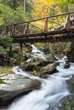 Waterfall in the mountains of Bulgaria Stock Image