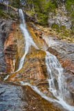 Waterfall in the mountains Royalty Free Stock Photo
