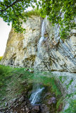 Waterfall in mountains Royalty Free Stock Photography
