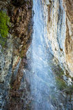 Waterfall in mountains Royalty Free Stock Images