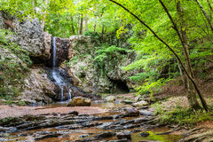 Waterfall in mountains near Atlanta Stock Image