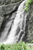 Waterfall in the mountains of Piedmont Stock Images