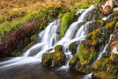 Waterfall in the mountains of Scotland Stock Photo