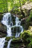 Waterfall in the mountains Royalty Free Stock Photography
