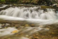 A Waterfall in the Mountains of Virginia, USA Stock Photos