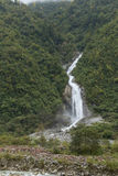 Waterfall moutain landscape Stock Images