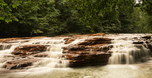 Waterfall on Muddy Creek near Albright WV Stock Photos