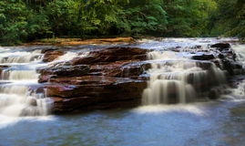 Waterfall on Muddy Creek near Albright WV Stock Image