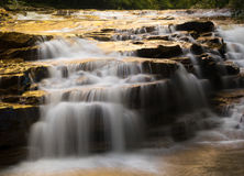 Waterfall on Muddy Creek near Albright WV Stock Photography