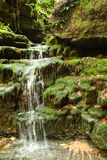 The waterfall at Muggio valley Royalty Free Stock Images
