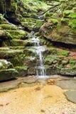 The waterfall at Muggio valley Royalty Free Stock Photo