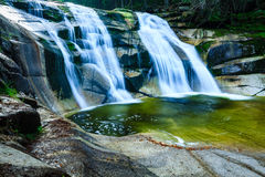 Waterfall. Royalty Free Stock Photos